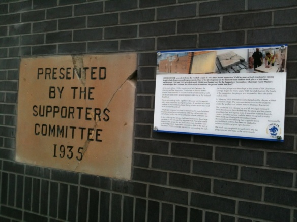 Plaque with Information Board