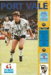 Port Vale v Chester - September 1992