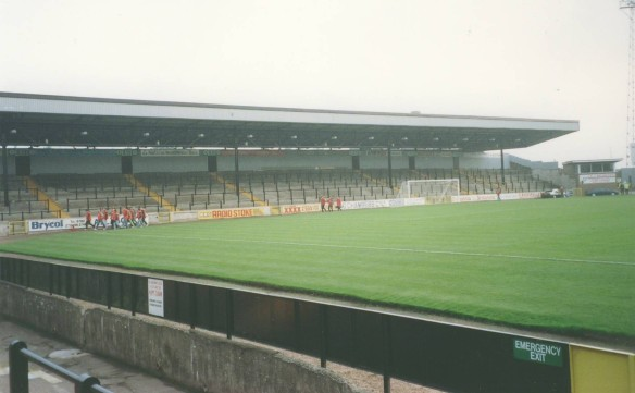 Hamil Road End Port Vale September 1992 Copyright © Fraser Warburton