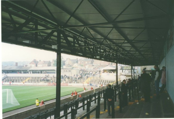 Standing at Vale Park in September 1992 Copyright © Fraser Warburton