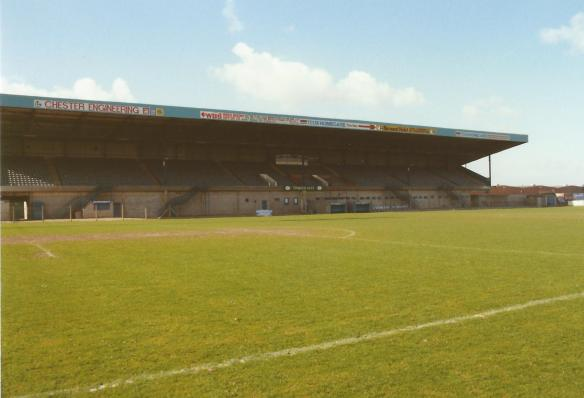 Main Stand 1990 Copyright © http://www.chesterfootballhistory.com