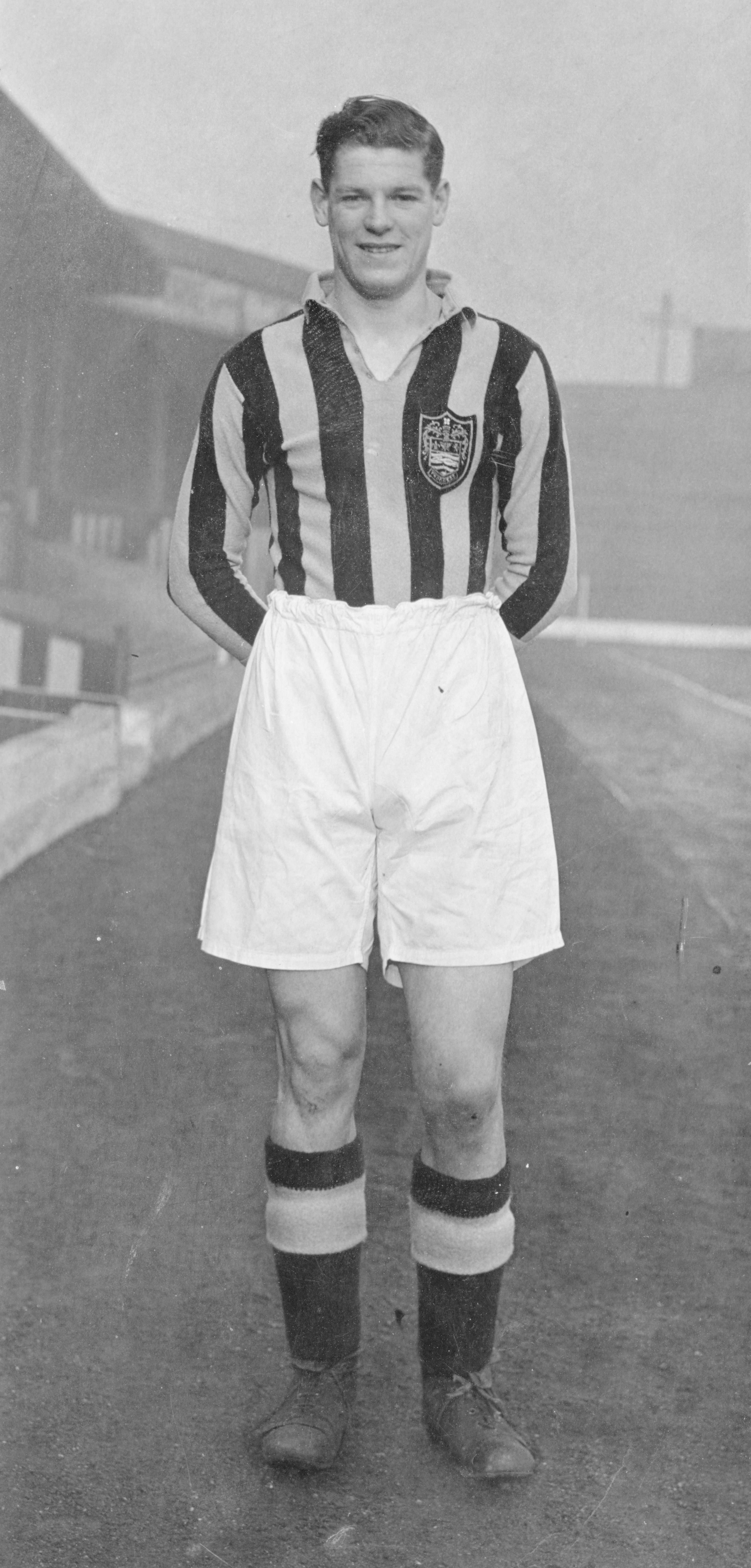 Jimmy McIntosh - Blackpool and former Chester guest player  Image courtesy of Blackpool Former Players Association